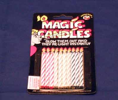MAGIC CANDLES