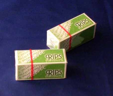 Mint Flavour Rips Cigarette Papers
