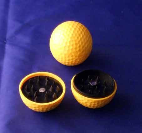 Magnetic Golf Ball Grinder / yellow